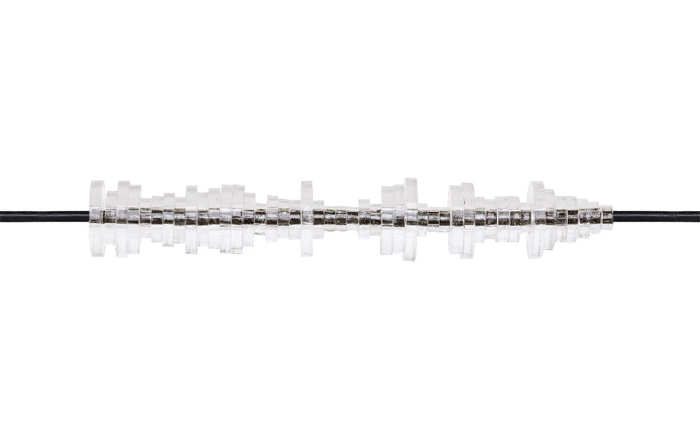Clear Acrylic Soundwave Bracelet